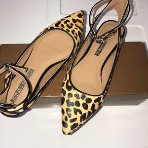 Audrey Brooke Leopard 🐆 Sandals